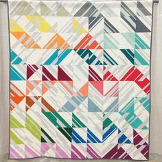 Freshly Pieced Modern Quilts: QuiltCon: My Thoughts Percolate by Emily Cier of Carolina Patchworks