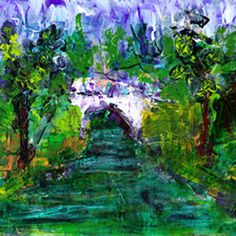 Bridge 1 Painting Print on Wrapped Canvas