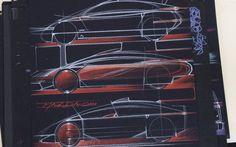 The selected drawings of Jacques Ostiguy, eccentric car designer - Car Photos & Videos - Autofocus.ca