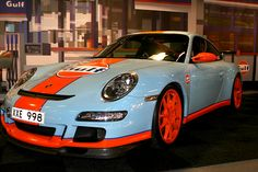 Porsche 997 GT3 RS. Foto: Georg Ryttman