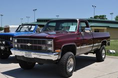 1983 Chevy Truck Lift Kit | my buddies 85 my other friends 87 all together 1983