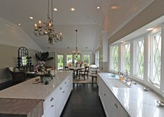 Kitchen in Southampton residence - Hamptons Real Estate