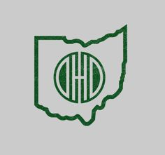 """Googled """"Ohio outline"""", and got this dope logo. Not from Ohio, in fact I've never been...but, this design is sick."""