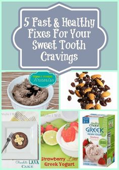 Maybe I Will...: 5 Fast & Easy Healthy Treats!!! Help Cure your sweet tooth!!! #healthy #treats #easy