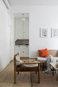 Perfect Layout In 1920s Stockholm Studio Apartment