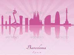 barcelona skyline silhouette - Cerca amb Google