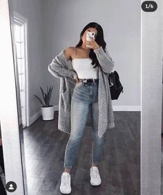 Cute Comfy Outfits, Cute Fall Outfits, Casual Winter Outfits, Winter Fashion Outfits, Look Fashion, Cute Simple Outfits, Fashion Mode, Simple Outfits For School, Fashionable Outfits