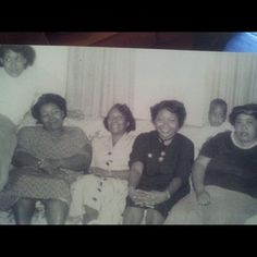 That's my grandmother in all black... #fashionicon oh how I miss her! Rest in paradise Muhdear!!