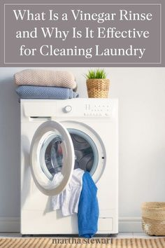 Experts share why this multi-purpose ingredient is a wash-day staple and will help clean your laundry during the wash cycle. #marthastewart #laundrytips #cleaning #cleaningtips #cleaninghacks #naturalcleaning Vinegar In Laundry, Laundry Detergent, Lava, Brighten Whites, Laundry Hacks, Laundry Rooms, Distilled White Vinegar, Natural Cleaning Products, Cleaning