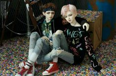 TAEHYUNG AND JIMIN DOLL