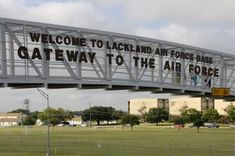 Lackland Air Force Base...wasn't that great of a welcome!