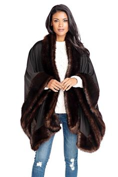 b5f0dd904ef4 I really like faux fur (not the patterned ones) and I really like capes