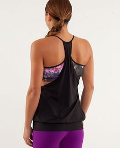 Bought this as motivation to get up early for hot power :) no limits tank | women's tanks | lululemon athletica