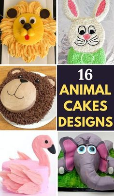 16 Beautiful Animal Cake Ideas for your Kid's Birthday Party. These cakes are easy to make and are popular among kids. #animalcakes #birthdaycakes #easyanimalcake #owlcake #animalcakesforkids #animalcakesparty #animalcakesfarm Lion Cakes, Owl Cakes, Animal Cakes For Kids, Cake Designs For Kids, Dolphin Cakes, Animal Birthday Cakes, Hedgehog Birthday, Beautiful Cake Designs, Colorful Birthday
