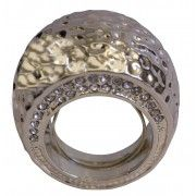 Gold Hammered Ring - Me!
