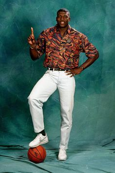 This Silk Shirt Is One Of The Greatest Things Humanity Has Ever Created....Larry Johnson