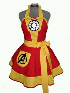 Geeky Fandom Aprons http://geekxgirls.com/article.php?ID=5766