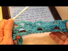 Reading a Crochet Pattern: Cupcake Stitch