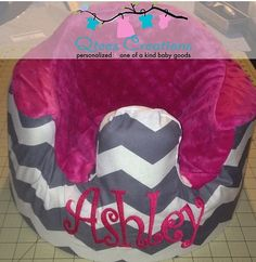 Personalized Foam Seat Bumbo Cover with optional by QteesCreations, $35.00