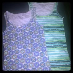 2 LADIES TANK TOPS Two brand new tank tops. NWOT. Comes from a smoke free, pet free home. Faded Glory Tops Tank Tops