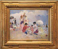 """A Hot Day at the Beach"" Martha Walter $195,000"