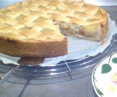 Apfelkuchen mit Äpfeln und Mus nach holländischer Art