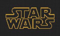 Star Wars Cross Stitch Pattern