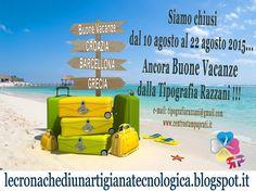 Silvia Razzani: Si va in vacanza… Più' o meno!