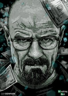 Breaking Bad - Walter White by Sam Denmark