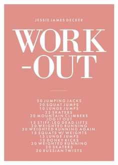 Jessie James Decker Workout