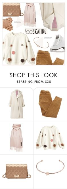 """""""Skate Date: Ice Skating Outfit"""" by mycherryblossom ❤ liked on Polyvore featuring Olympia Le-Tan, Current/Elliott and iceskatingoutfit"""