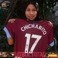 Yalitza luce el Jersey del  Chicharito ! . La actriz mexicana agradeció el  apoyo c0a80642e7613