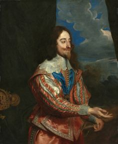 Portrait of King Charles I    copy after Anthony van Dyck (Flemish, 1599-1641)    Date: 17th century    Medium: oil on canvas    Dimensions: Framed - h:153.67 w:130.17 d:105.41 cm (h:60 1/2 w:51 3/16 d:41 1/2 inches) Unframed - h:116.80 w:96.30 cm (h:45 15/16 w:37 7/8 inches)    Department: European Painting and Sculpture    Type of art work: Painting    Credit Line: Gift of Mr. and Mrs. J. H. Wade