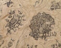 , 17th century CE, Embroidery, English, Fashion, Jacket, Linen, Owl, Peacock, Silk