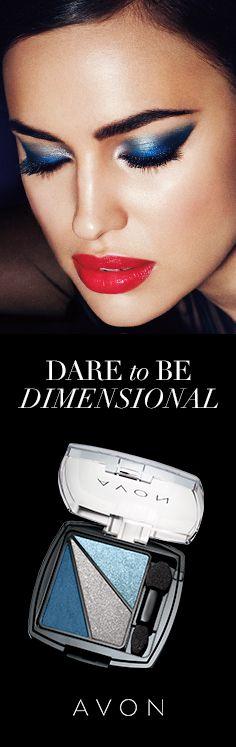 Eye Dimensions Eyeshadow in Iconic Night #DareToBeBold #Daring #AvonMakeup
