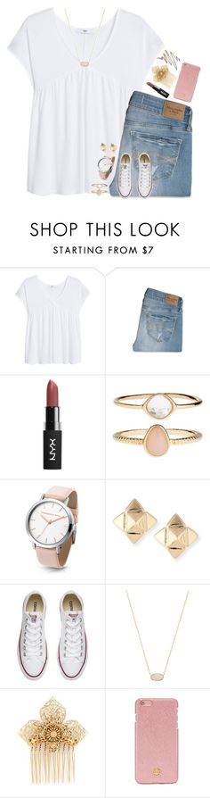 """currently listening to the entire red album by taylor swift"" by pineapple5415 ❤ liked on Polyvore featuring MANGO, Abercrombie & Fitch, Accessorize, Valentino, Converse, Kendra Scott, Miriam Haskell, Tory Burch, Anastasia Beverly Hills and country"