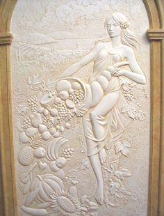 Салон Декора :: Образцы фактурной штукатурки на фото. Галерея каталога