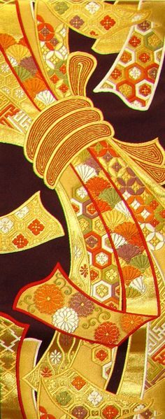 Only The Best Embroidery Designs Japanese Textiles, Japanese Patterns, Japanese Fabric, Japanese Design, Japanese Kimono, Japanese Art, Japanese Embroidery, Embroidery Art, Embroidery Patterns