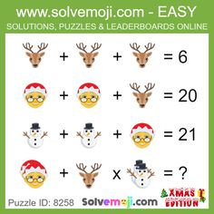 Solvemoji - Free teaching resources - Emoji math puzzle, great as a primary math starter, or to give your brain an emoji game workout. Maths Starters, Math Logic Puzzles, Emoji Games, Math Challenge, Primary Maths, New Puzzle, Free Teaching Resources, Counting Activities, Picture Puzzles