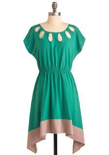 ModCloth dress: like the top... the bottom???