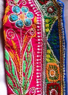 Detail work from Peru
