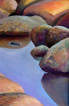 Deborah Secor / Landscape Painting in Pastels: CHAPTER SIXTEEN -- WATER AND REFLECTIONS