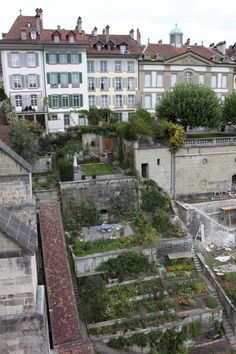 rooftop gardens in Bern, Switzerland