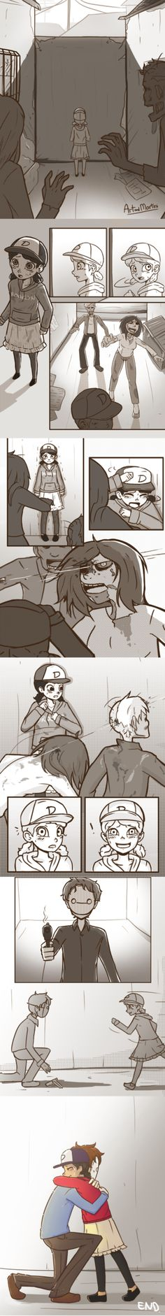 Clem and Cry... OMG THIS IS BEAUTIFUL
