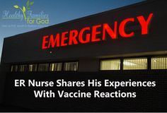 Pediatricians often say that they have never seen a vaccine reaction before. Most adverse vaccine reactions are in the emergency room department, though. Additionally, many doctors and nurses do not even know how to recognize adverse vaccine reactions. Triage Nursing, Health And Wellness, Health Care, Baby Health, Good To Know, Natural Health, Medical, Health