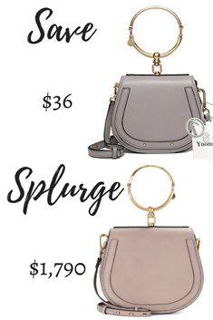 Chloe Saddlebag Bracelet Bag Dupe Best Affordable Handbags That Look Designer Save Or Splurge