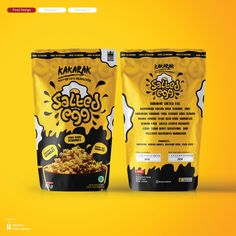 Chip Packaging, Packaging Snack, Biscuits Packaging, Honey Packaging, Food Packaging Design, Packaging Design Inspiration, Brand Packaging, Packaging Ideas, Food Design