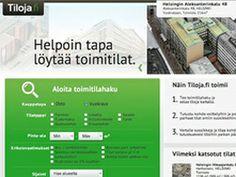 Tiloja.fi by #iwa #labs #webkehitys