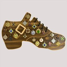 Medal display irish dancing shoe