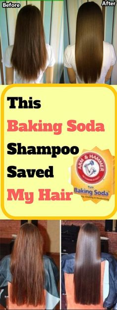 This Baking Soda Shampoo Saved My Hair. Interesting!!